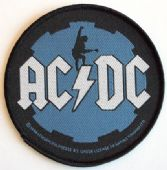 AC/DC - 'Black Ice' Round Woven Patch